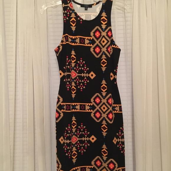 Iris Basic Dresses & Skirts - Iris Los Angeles racer back tank dress size M